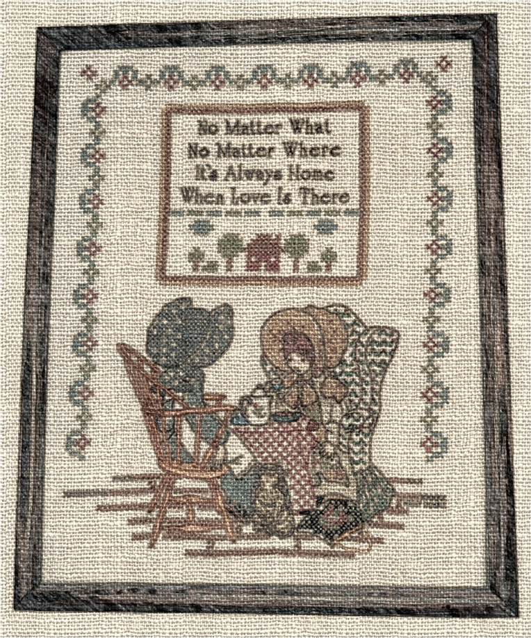 RuthK Cross-Stitch, ca. 1982